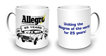 '25 Years of the ACI' Commemorative Mug