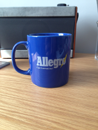 Allegro Club International Club Mug