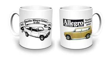 '40 Years of the Allegro Estate' Commemorative Mug